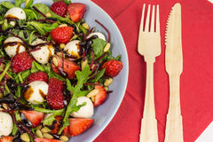 Strawberry summer salad Royalty Free Stock Photos