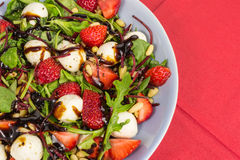 Strawberry summer salad Stock Images