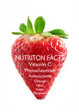 Strawberry superfood Royalty Free Stock Image