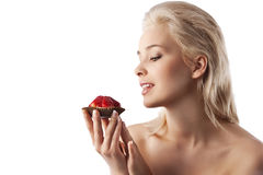 The strawberry sweet Royalty Free Stock Photography