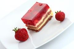 Strawberry sweet dessert Stock Photo