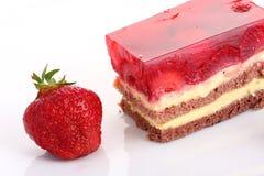 Strawberry sweet dessert Royalty Free Stock Photos