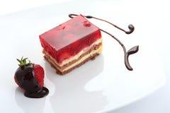 Strawberry sweet dessert Royalty Free Stock Photo