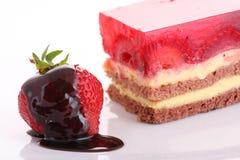 Strawberry sweet dessert Stock Photos