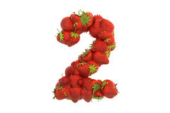 Strawberry symbol 2 Stock Photography