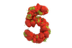 Strawberry symbol 5 Stock Photo