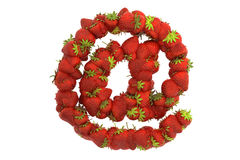 Strawberry symbol Stock Photos