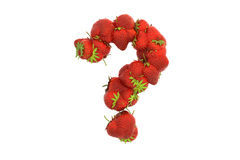 Strawberry symbol ? Royalty Free Stock Photography