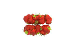 Strawberry symbol = Royalty Free Stock Images