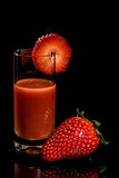 Strawberry Syrup Royalty Free Stock Photography