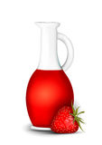 Strawberry syrup Royalty Free Stock Photos