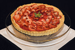 Strawberry Tart. Dessert stock images