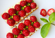Strawberry Tart Royalty Free Stock Images