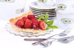 Strawberry Tart Stock Photography