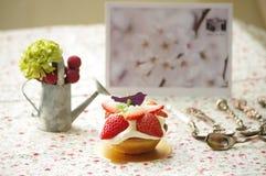 Strawberry Tart Stock Image