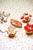 Strawberry Tart. This is a Strawberry Tart Royalty Free Stock Images