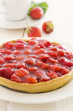 Strawberry tart Royalty Free Stock Image