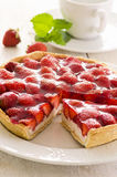 Strawberry tart Stock Photography