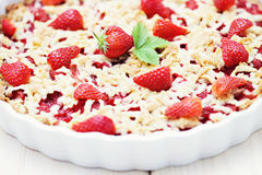 Strawberry tart Stock Image