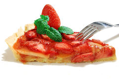 Strawberry tart Royalty Free Stock Photography