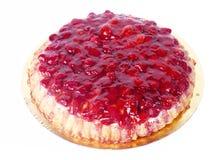 Strawberry tart cake Royalty Free Stock Image