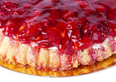 Strawberry tart dessert Royalty Free Stock Photography