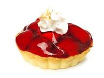 Strawberry tart isolated Stock Image