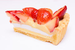 Strawberry tart pie Royalty Free Stock Photos