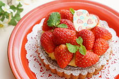 Strawberry Tart Royalty Free Stock Photos