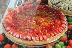 Strawberry tart Royalty Free Stock Images