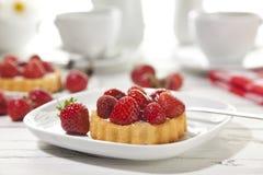 Strawberry Tartlet Royalty Free Stock Image