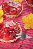 Strawberry tarts Royalty Free Stock Photo