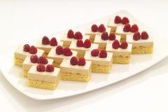 Strawberry Tarts Stock Photo