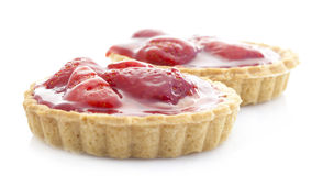 Strawberry Tarts Royalty Free Stock Images