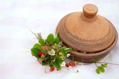 Strawberry tea royalty free stock image