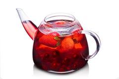 Free Strawberry Tea Stock Photo - 52176610