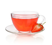 Strawberry tea Royalty Free Stock Images