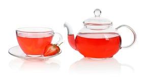 Strawberry tea Royalty Free Stock Photo