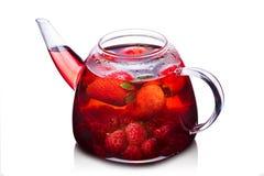 Strawberry tea Stock Photo