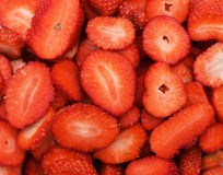 Strawberry texture Stock Photo