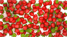 Strawberry texture or background Stock Photos