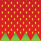 Strawberry texture background illustration Royalty Free Stock Image