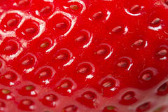 Strawberry texture Stock Image