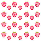 Strawberry texture. Illustration of red strawberry texture Stock Photos