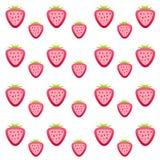 Strawberry texture Stock Photos