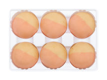 Strawberry thai mochi Stock Images