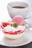 Strawberry Tiramisu Royalty Free Stock Photo