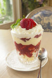 Strawberry trifle Royalty Free Stock Photography