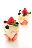 Strawberry trifle Stock Image