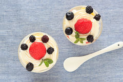 Strawberry trifle Royalty Free Stock Photo